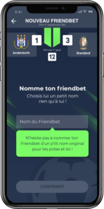 Create your pool bet on Friendbet
